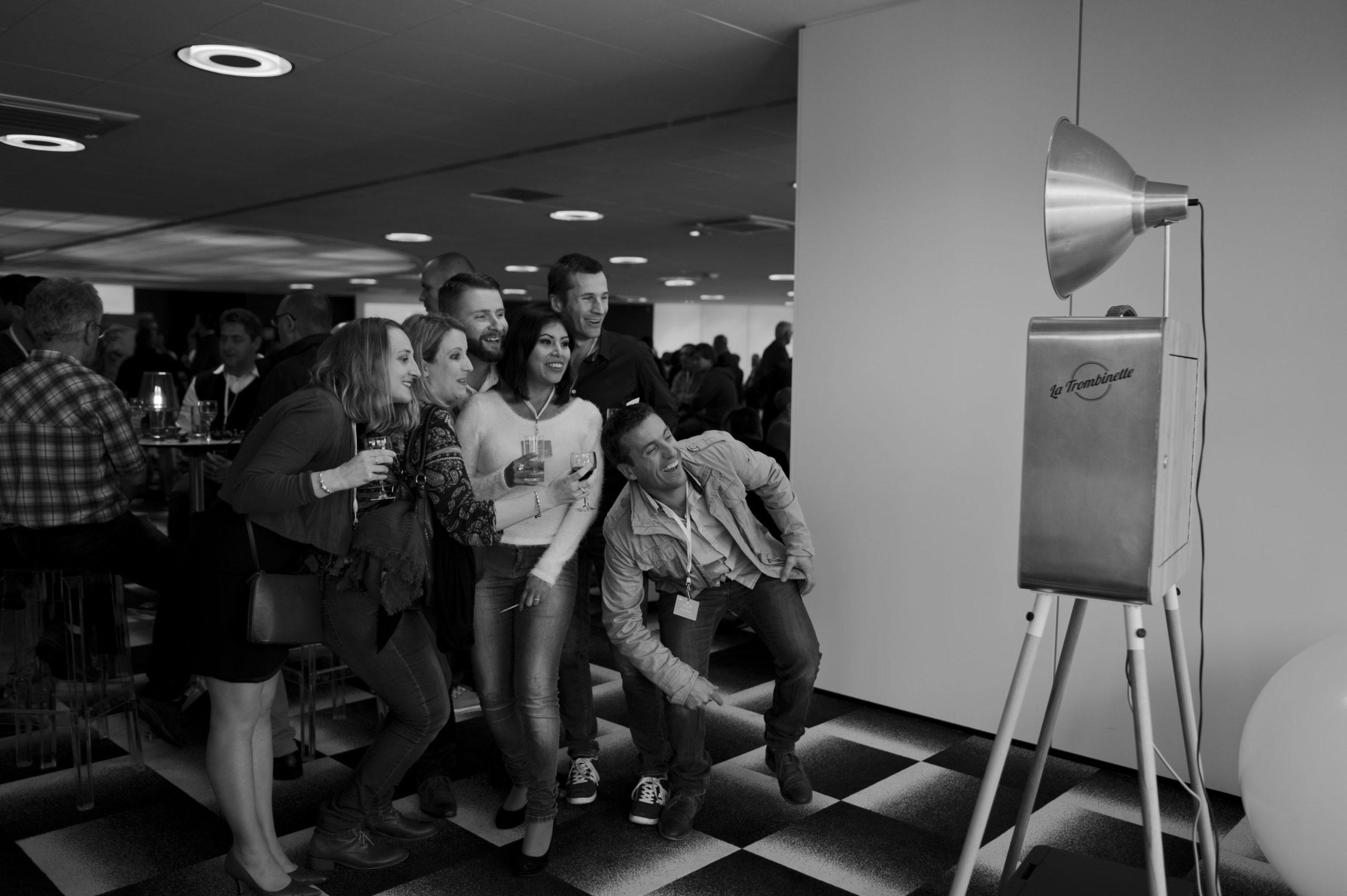 Borne photo convention d'entreprise (1)