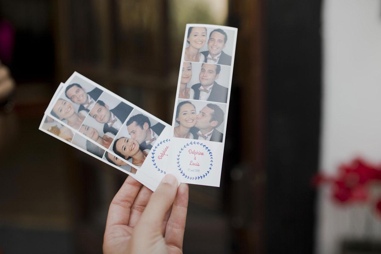 Cabine photo mariage