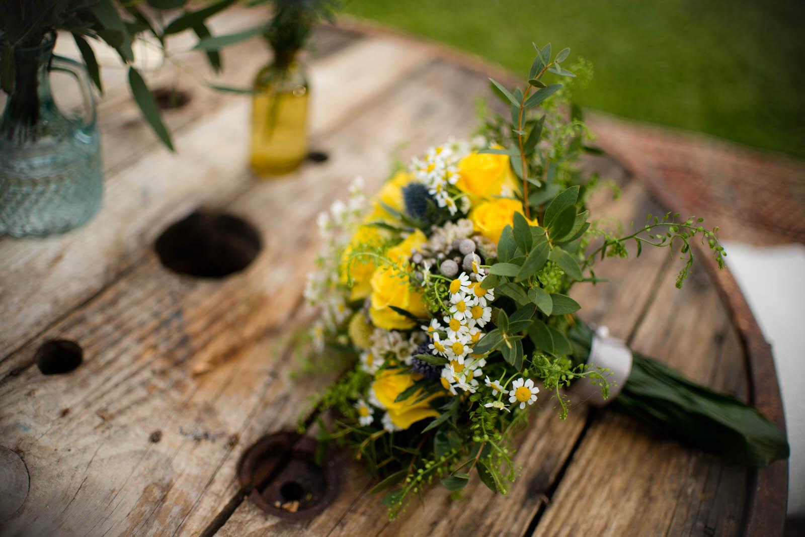 mariage champêtre en normandie