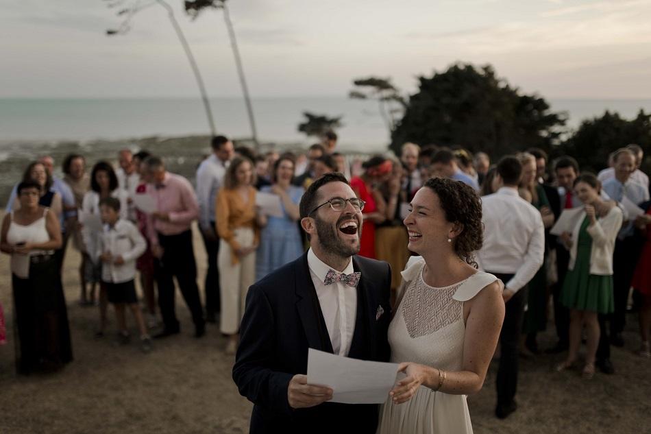 borne photo Trombinette joli mariage