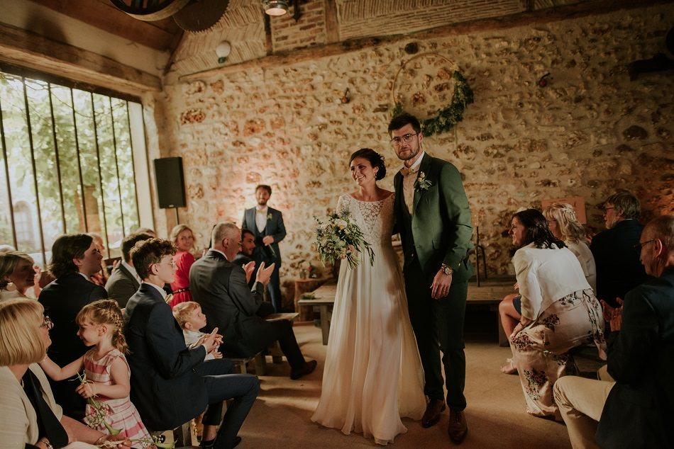 Un mariage aux Bonnes Joies