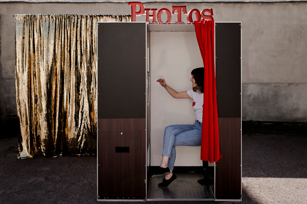 cabine photomaton