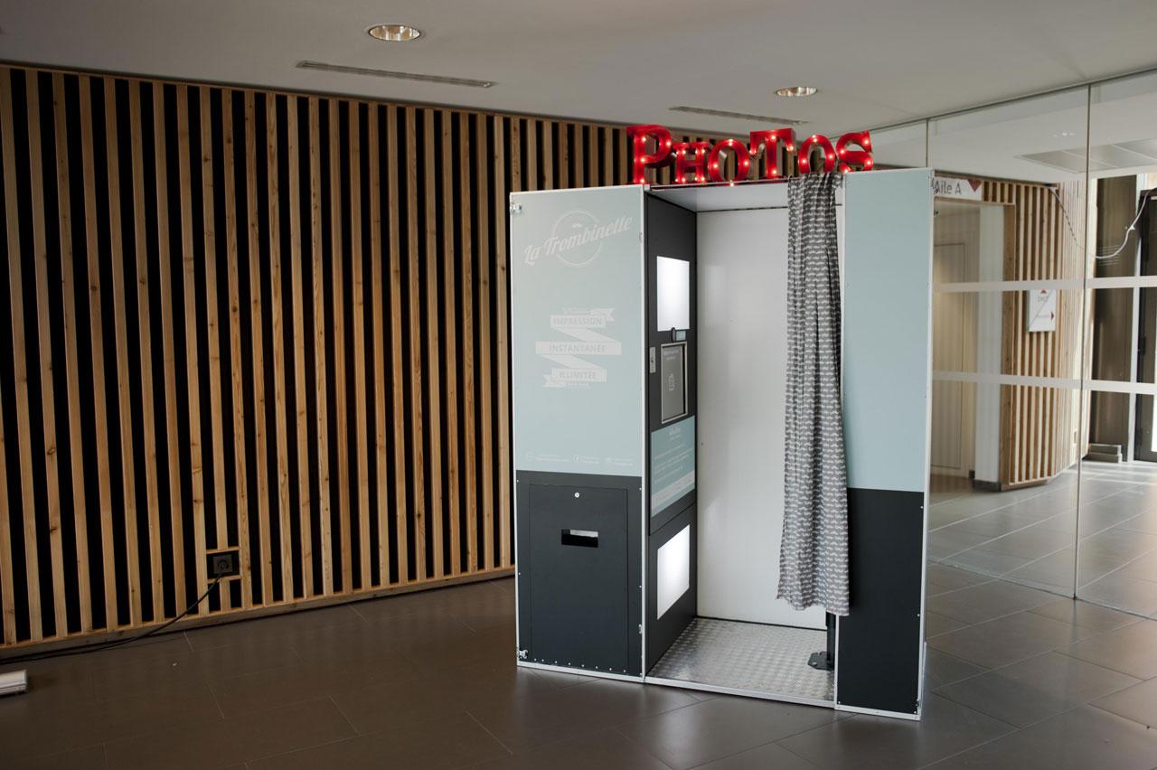 deux photobooth à paris