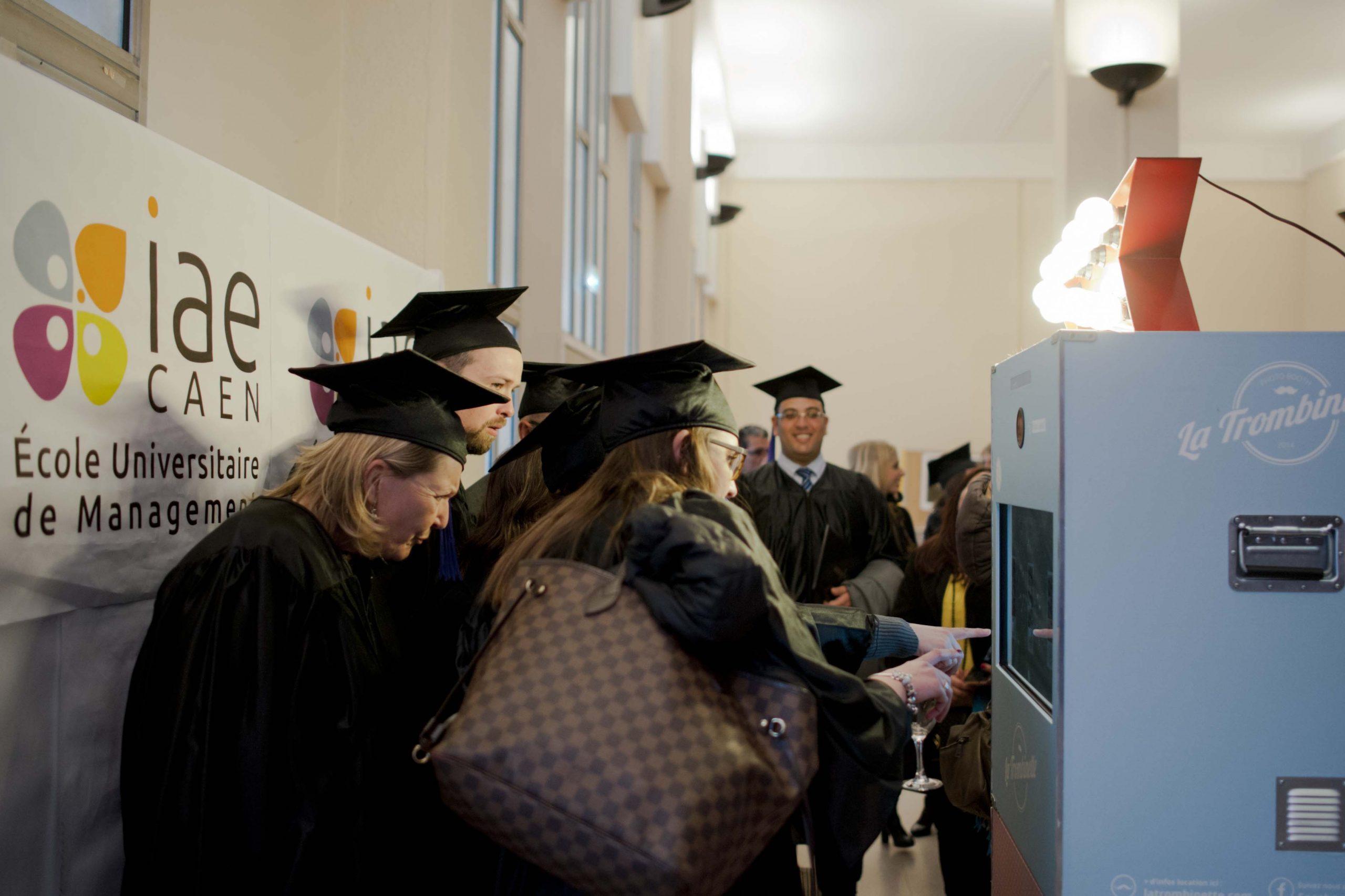 Photomaton à la remise des diplômes