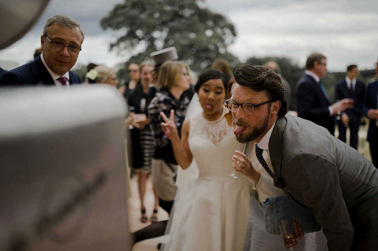 mariage franco chinois en Normandie avec photobooth